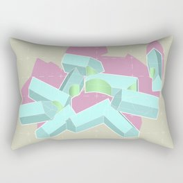 Indifferent Domesticity Rectangular Pillow