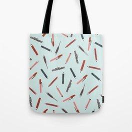 Pens and pencils Tote Bag