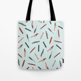Pens and pencils Tote Bag