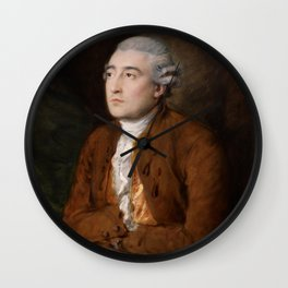 Thomas Gainsborough - Philippe Jacques de Loutherbourg Wall Clock