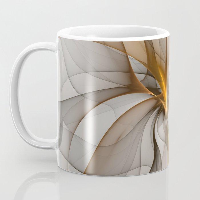 Elegant Chaos, Abstract Fractal Art Coffee Mug