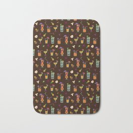 Tropical Drinks Bath Mat