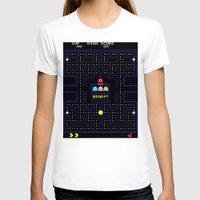 pac man T-shirts featuring Pac Man by Trash Apparel