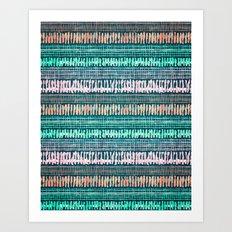 rhythm 2.3 Art Print