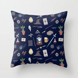 Harry Pattern Night Throw Pillow