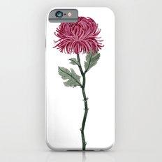 Pink Chrysanthemum Slim Case iPhone 6s