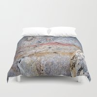 mineral Duvet Covers featuring Mineral Vein by LilyMichael Photography