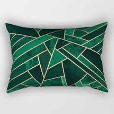 Emerald Night Rectangular Pillow