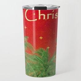 Merry Chirstmas Design Travel Mug