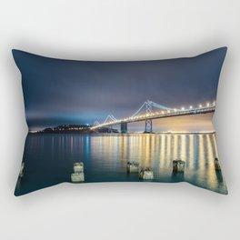 San Francisco Bay Bridge Rectangular Pillow