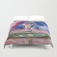 patriotic Duvet Covers featuring Patriotic Splash by ThePhotoGuyDarren