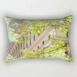 Lazy Lunch in FiDi Rectangular Pillow