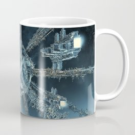 Space Dock Rendezvous Coffee Mug