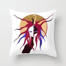 Circe The Magical Woman Throw Pillow