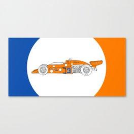 McLaren M16C - Trailing Liveries Canvas Print