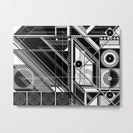 J.Series/AmityStreet_201 Metal Print