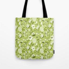 Finally Easter! [mono green] Tote Bag