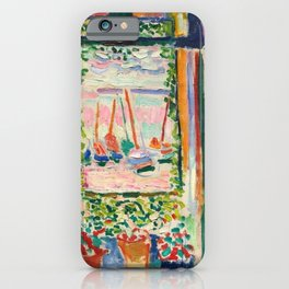 Open Window by Henri Matisse iPhone Case