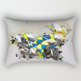 Police Motorbike -Yamaha FJR 1300 Rectangular Pillow
