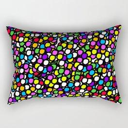 Bubble GUM Colorful Balls Rectangular Pillow