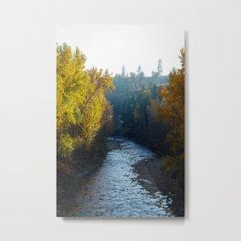 Mission Creek Metal Print