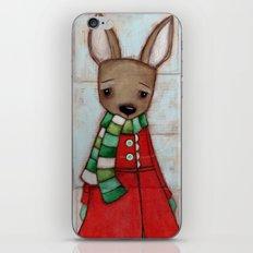 Winter Coat iPhone & iPod Skin