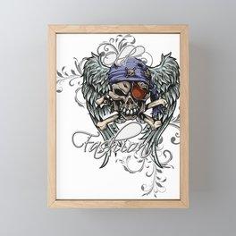 Old Fashion Pirate Framed Mini Art Print