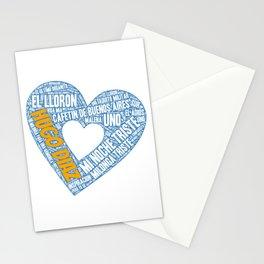 I Heart Hugo Diaz Tango Stationery Cards