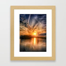 Ready Set Summer Framed Art Print