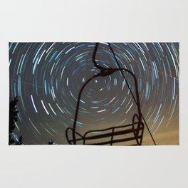 Chair Lift Spiral Rug