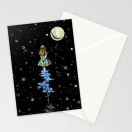 Wonderland Sky Viewing Time - Alice In Wonderland Stationery Cards