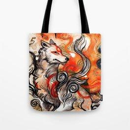 Okami Amaterasu Tote Bag