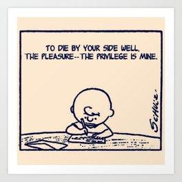 The Pleasure Art Print