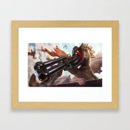 High Noon Jhin League of Legends Framed Art Print