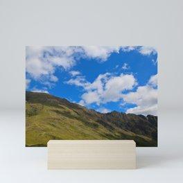Rolling Scottish Hills Mini Art Print