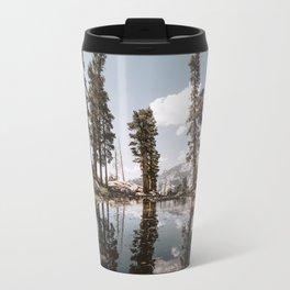 Alpine Lake Reflections Travel Mug