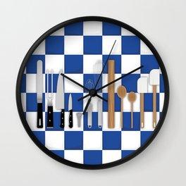 Cooking Tools Wall Clock