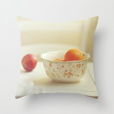 Tasty afternoon Throw Pillow