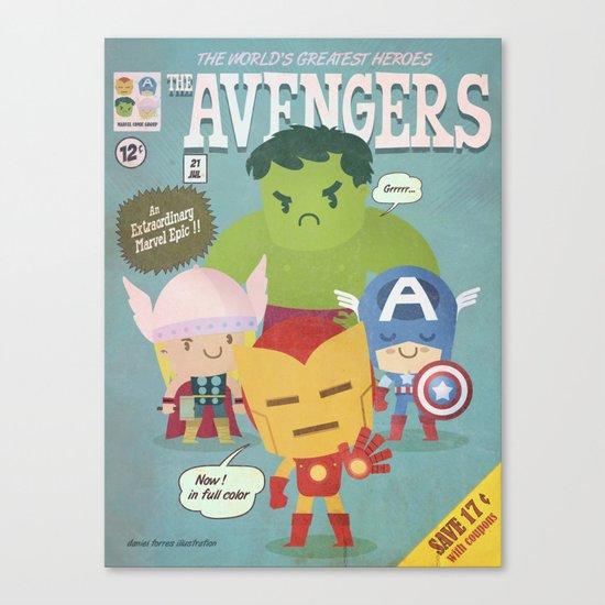 avengers fan art Canvas Print
