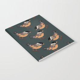 Forest Bird Pattern  Notebook