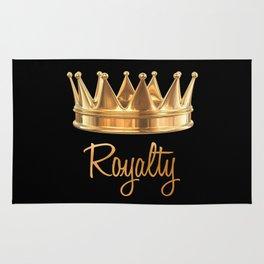Royalty Gold Crown Rug