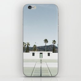 tennis at hearst iPhone Skin