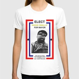 Biggie Smalls for Mayor T-shirt