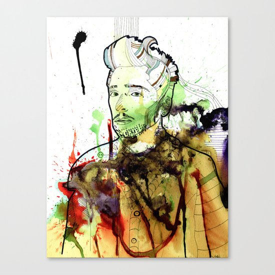 Life without freedom Canvas Print