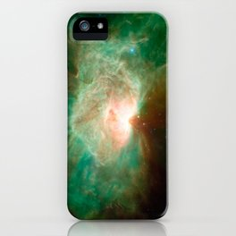 the horse becomes the phoenix | space #04 iPhone Case