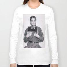 Elvis Presley Mugshot Long Sleeve T-shirt
