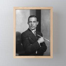 Rudolph Valentino Framed Mini Art Print