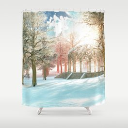 February Sun Shower Curtain