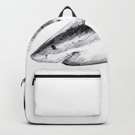 Great white shark (Carcharodon carcharias) Backpack