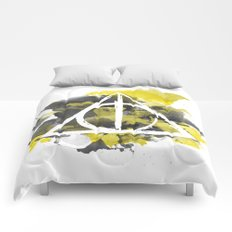 The Deathly Hallows (Hufflepuff) Comforters